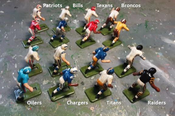 1960 AFL Teams Display
