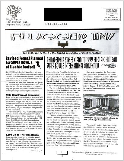 PI Fall 1998