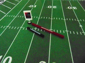 Another system of target passing sticks
