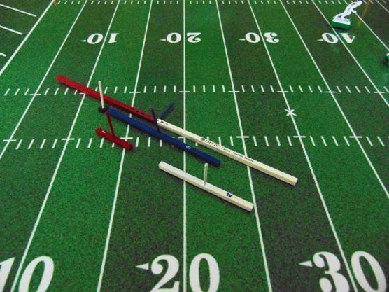 A set of DIxie EFL passing sticks