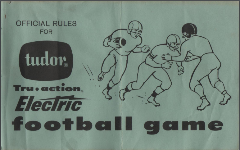 1959 Rule Book Cover