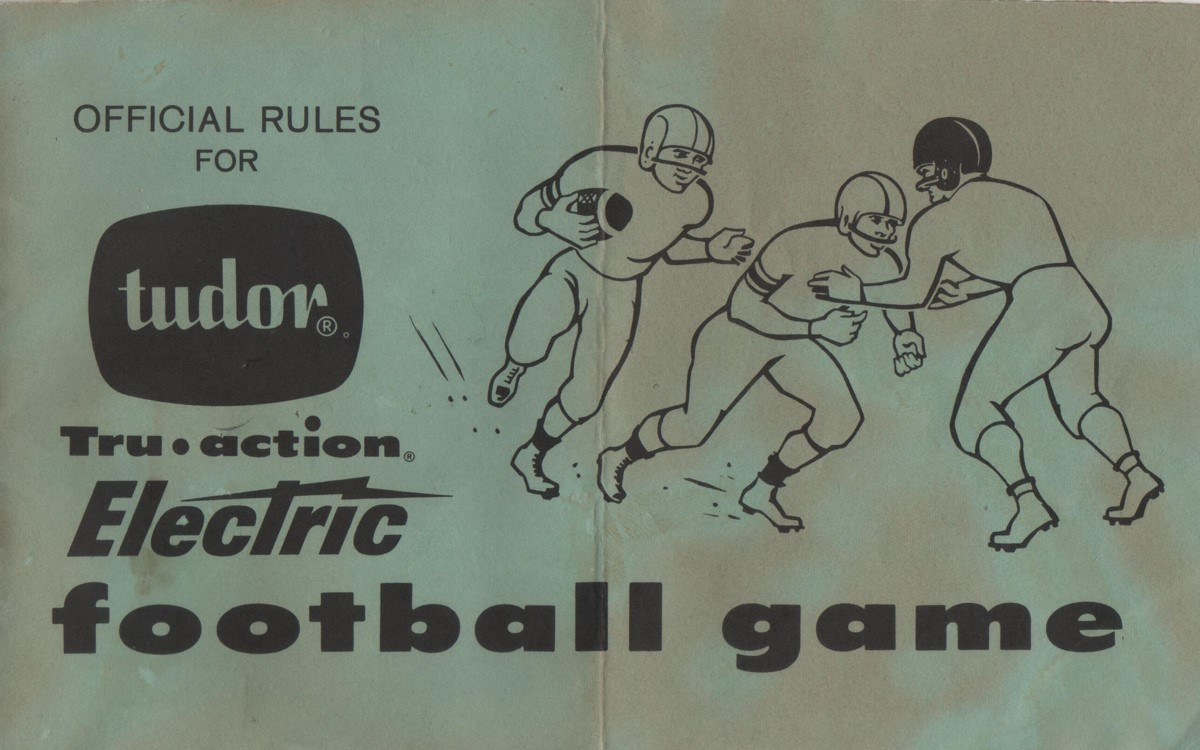 1961 Rule Book Cover