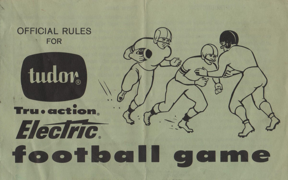 1965 Rule Book Cover