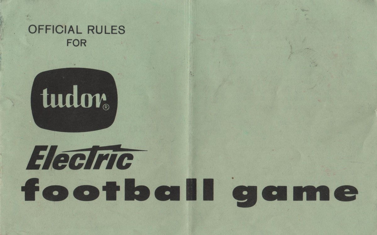 1967 Rule Book Cover