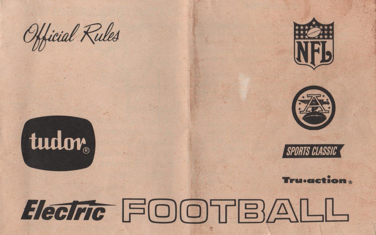 1968 Rule Book Cover
