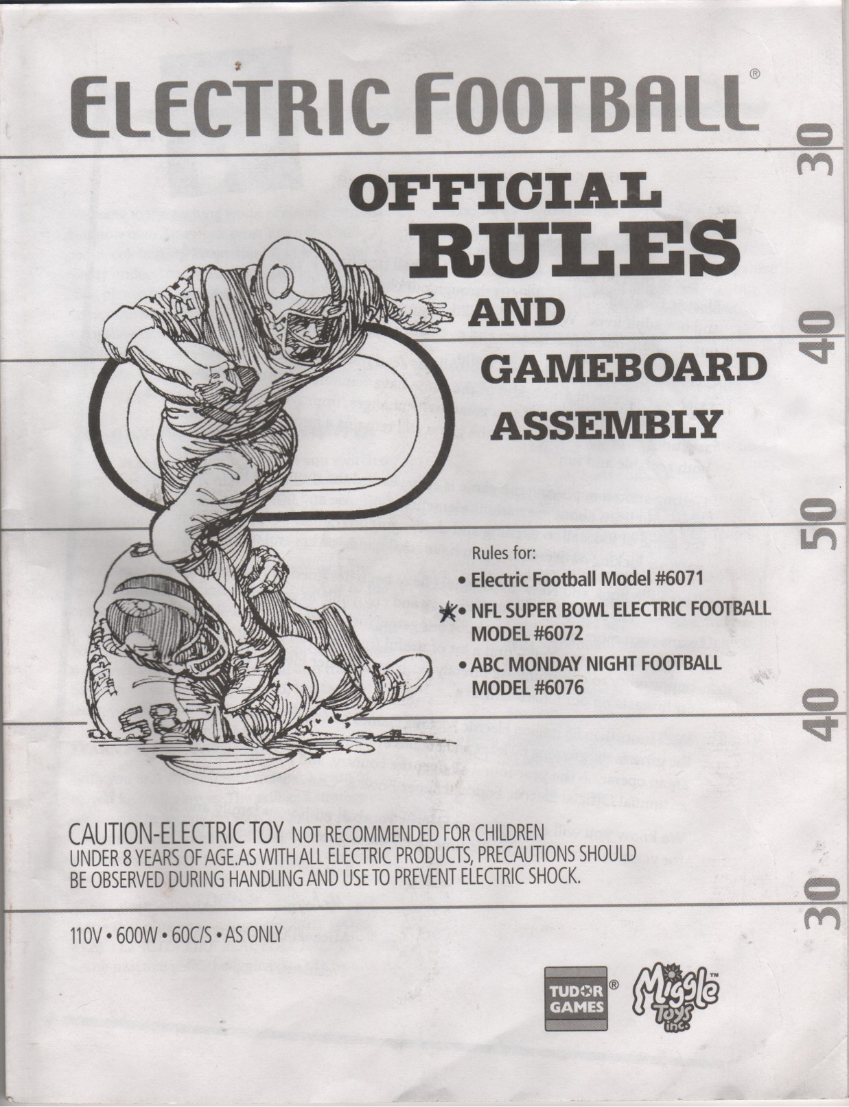 2000 Miggle Toys Rule Book Cover